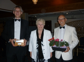 Eileen, Charles & Allan - Lutterworth Speakers Club team and Winners of the 2015 Area Chatterbox competition